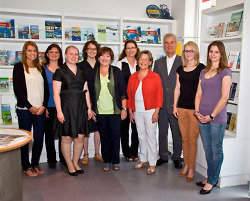 The team of the Tourist Information Aalen