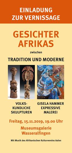 Gesichter Afrikas - zwischen Tradition und Moderne