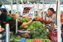 Wochenmarkt in Aalen