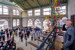 Richtfest des Kulturbahnhofs